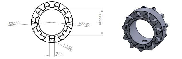 Ventilation Mechanism gear & parts5